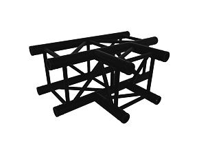 Black Truss A290 Nr. 8288 - 710 x 500 mm - T-Ecke