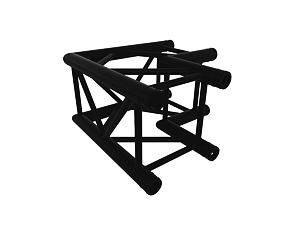 Black Truss A290 nr. 8286 - 500x500 mm - L-Ecke